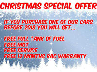 CHRISTMAS SPECIAL OFFER AT TF CARS! TAKE A LOOK AT ALL OUR STOCK!