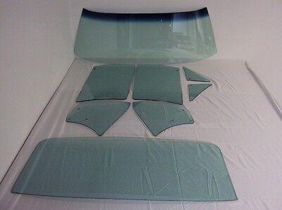 66 67 Chevelle 2 Door Hardtop Glass Windshield Vent Door Quarter Back GT Dated 67 Chevelle Vent Window