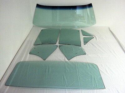 67 Chev Camaro Pont Firebird Green Windshield Vent Door Quarter Back Glass HT