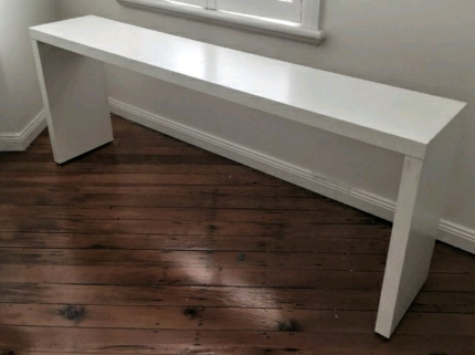 Malm OVER THE BED TABLE Ikea WHITE