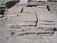 20sqm amazing condition York flag stones for sale