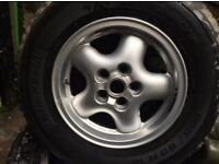 Land Rover Range Rover Wheels + Tyres