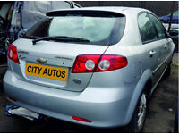 CHEVROLET LACETTI 1.6 PETROL 2007 REG 36,000 MILES 5 DOOR HATCHBACK AUTOMATIC SILVER
