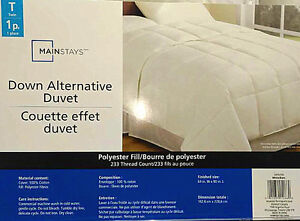 Brand new twin size duvet for 40% off