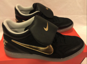 new !!! NIKE Tiempo Mid '94 NFC ‑ Black/Gold - women 39 / shoes