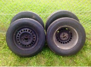 215 70 R15 4 set of tires , all season , %70