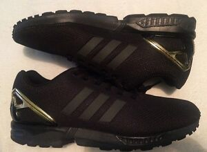 Adidas Zx Flux Black Gold Upwey Yarra Ranges Preview