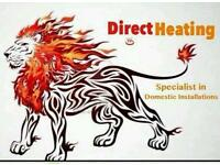 Direct Heating and Plumbing Specialist in all aspects of Gas and Water