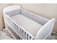 Cot Bumper for Baby Cot Bed (NEW)
