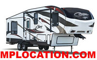 Location Roulotte ou de Fifth Wheel
