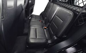 NEW BLACK LEATHER SEATS FROM SUV FOR YOUR GAMES ROOM