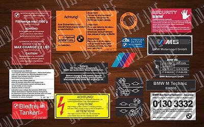 купить Bmw E28 M5 Restoration Aufkleber Decals Stickers Set на Ebay