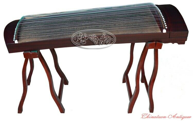 "Concert Grade 41"" 21-String Guzheng Chinese Zither Harp Koto Child Portable#1481"