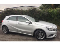 Mercedes Benz silver a class - 14 plate no tax and cheap to run!