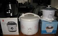 Three Different Rice Cookers for Sale