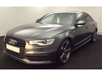 Audi A6 Saloon Black Edition FROM £62 PER WEEK!