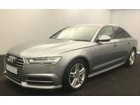 Grey AUDI A6 SALOON 2.0 3.0 TDI Diesel SPORTS LINE FROM £98 PER WEEK!