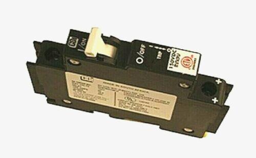 MIDNITE SOLAR MNEPV15 CIRCUIT BREAKER 15A 150VDC 1-POLE DIN MOUNT