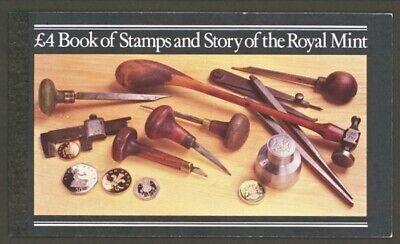 GB PRESTIGE STAMP BOOKLET, 1983, Scott BK-147, £4, Royal Mint, DX 4