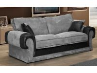 FABRIC/CRUSH VELVET *tango SOFA* CHEAPEST PRICELUXURY 3+2/Corner sofa 12492