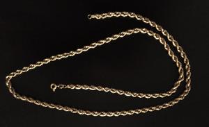 14 K Gold 24 Inch Chain