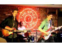 The Elston Guns seek lead guitarist (rock'n'roll, industry interest)