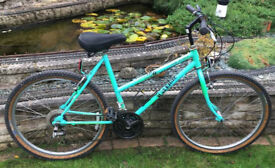 Retro Steel-framed Raleigh Lizard Womens Moutain Bike