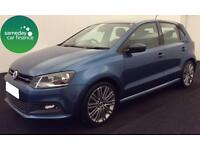 £185.93 PER MONTH VW POLO 1.4 TSI BLUE GT 5 DOOR PETROL MANUAL