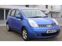 Nissan, NOTE, MPV, 2008, Manual, 1386 (cc), 5 doors, nice drive