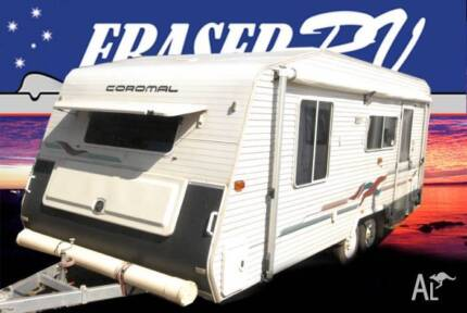 brilliant getaway 2002 caravan coromal capri 660 mirage series Dungog Dungog Area Preview
