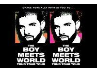 6x Drake O2 - Sunday 5th Feb - American Express Invites
