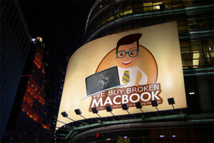 We are buying Mac Book for cash! Today ! Money money
