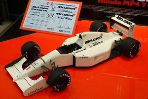 Tamiya 25171 1/20 Scale Model Kit McLaren Honda MP4/7 Formula One Senna/Berger