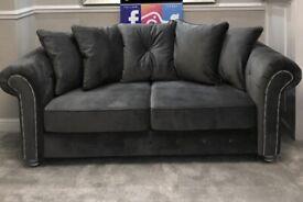 Brand New olvia fybric grey Sofa