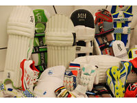 FULL Cricket Merchandise ALL gear Bats Wheelie Bag Pads Helmet Gloves Whites Clothing NEW or USED