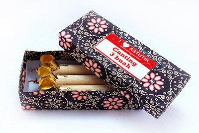 Vintage Indonesian Batik Pen tools - Chanting - Canting - Tjanting 3 pcs/Set