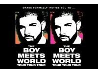 3x Drake O2 - Monday 30th January - American Express Invites