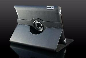 360 Ipad 5 Air Magnetic Leather Case- Black