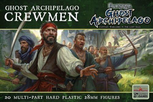 Frostgrave Crewmen 1 sprue 5 models 28mm Ghost Archipelago