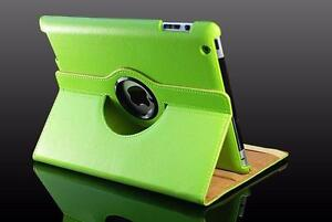 360 Ipad 5 Air Magnetic Leather Case- Green