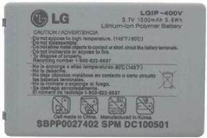 NEW OEM LG LGIP-400V FATHOM VS750 ALLY VS740 SBPP0027402 BATTERY