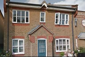 2 bed maisonette to rent in Lower Sunbury, a stones throw from the River Thames