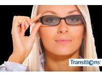 Varifocal Transitions Lenses 1 pair