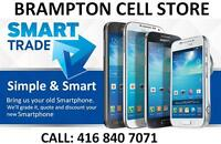 SMARTPHONE TRADE IN PROGRAM, TRADE AND SAVE - BRAMPTON STORE