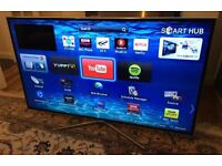 65in Samsung SMART TV -1000hz- wifi - Freeview/Sat HD -CAMERA