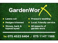 GardenWorx Gardening services