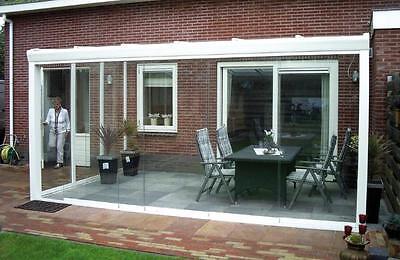 glasschiebetur 5 breite querstreifen xxl 120 cm breit. Black Bedroom Furniture Sets. Home Design Ideas