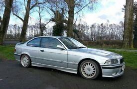 1997 BMW 323i Manual E36 Coupe M3 Kitted MOT July 18