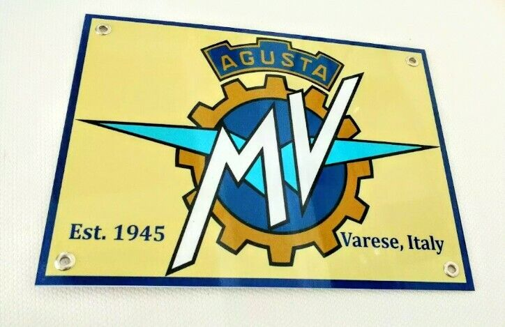 MV Agusta motorcycles sign ... Italy motorcycle