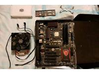 MSI Z97 Gaming 3, Intel I7 4770, 16gb ram, Evo 212